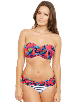 figleaves Mix Up Underwired Twist Bandeau Bikini Top