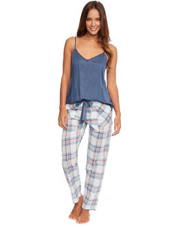 Cyberjammies Bow Check PJ Set