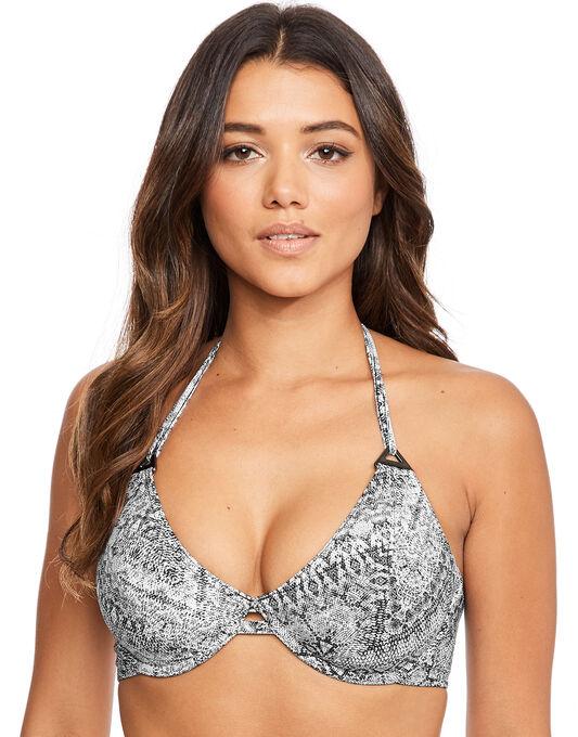 Freya Swim Viper Underwired Bandless Halter Bikini Top