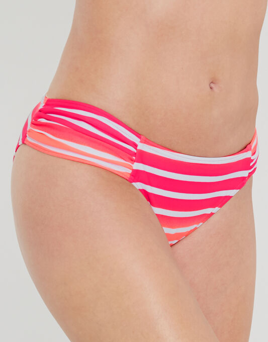 figleaves Framboise Ruched Brief