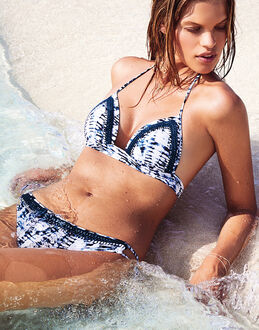 Watercult Batik Twist Halterneck Bikini Top