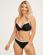 Back to Black Underwired Moulded Bikini Top