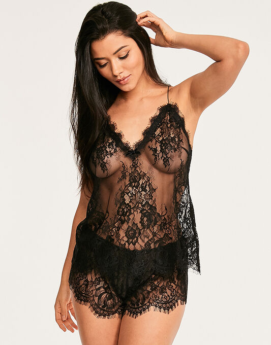 figleaves Gigi Galloon Lace Cami & Short Set