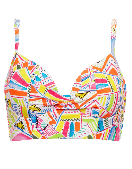 figleaves Havana Underwired Longline Sweetheart Bikini Top