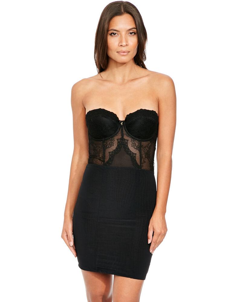 Superboost Strapless Lace Slip Dress 1026753