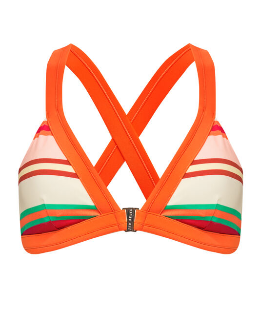 Ted Baker Pier Stripe Bikini Top