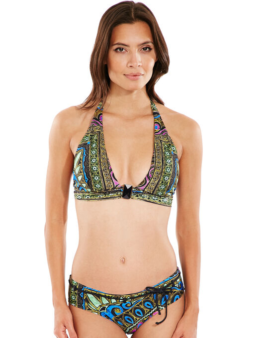 Aguaclara Fantasia Mediterranea Missy Halter Bikini Top