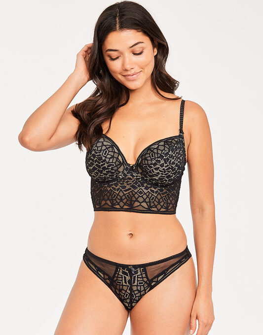 Soiree Lace Underwire Bralette