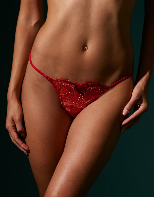 Maison Close Jardin Imperial Thong