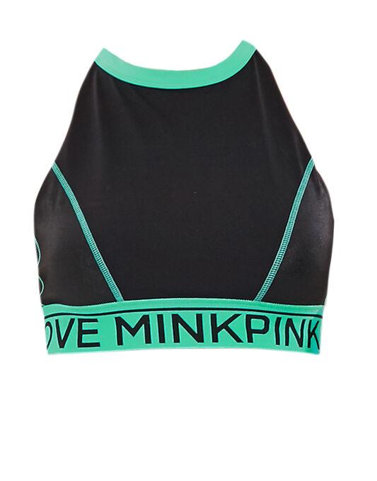 Mink Pink Work It Out Crop Top