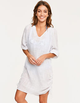 Seafolly Textured Gauze Beach Shirt