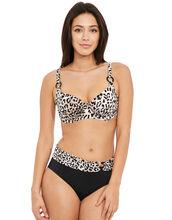 Caya Underwired Gathered Full Cup Bikini Top