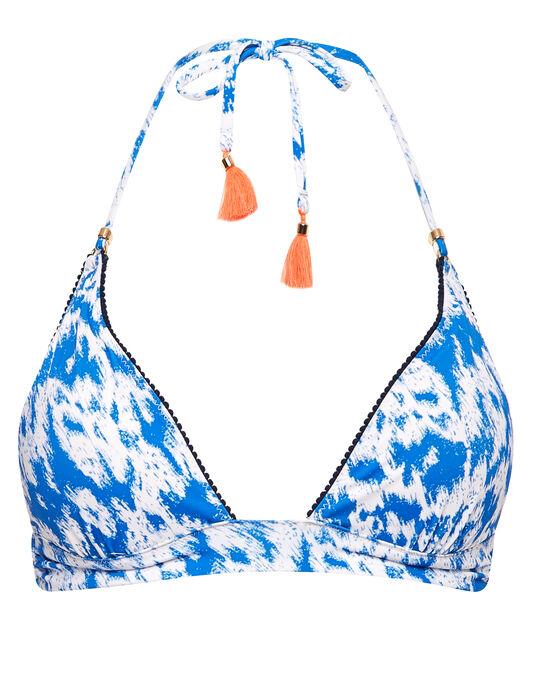 Heidi Klum Swim Catalina Kisses Padded Halter Bikini Top