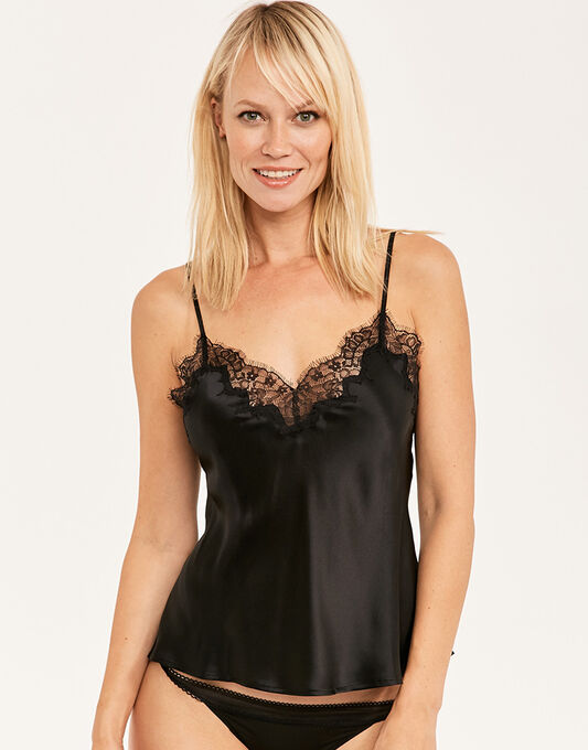 figleaves Lana Pure Silk and Lace Cami
