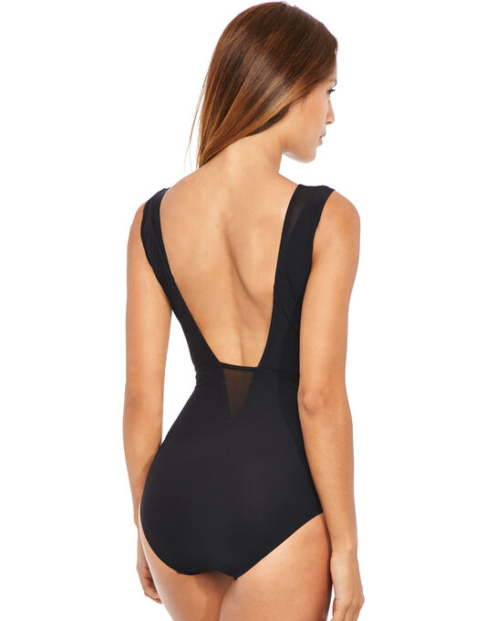 figleaves Icon Mesh Shaping Swimsuit