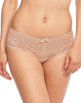 Playtex Flower Lace Midi Brief