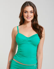 Versailles Underwired Twist Front Control Tankini Top