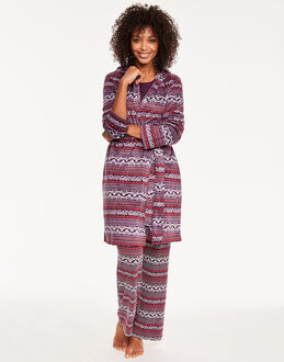 Maidenform Sleepwear Holiday Fleece Robe
