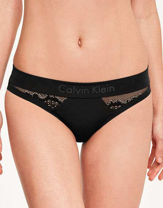 CK Black Electric Bikini