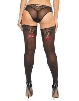 figleaves Grace 50 Denier Lace Hold Up