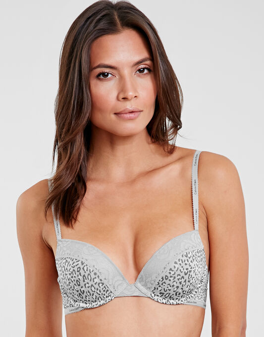 Calvin Klein Modern Signature Flirty Push Up Bra