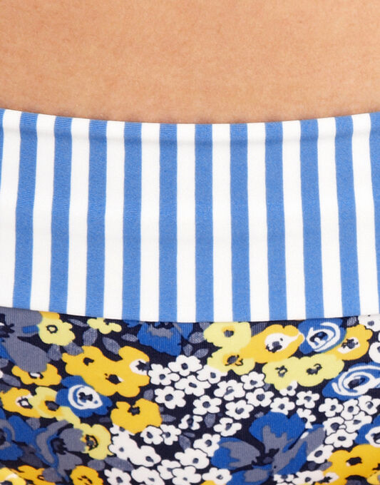 figleaves Posy Fold Bikini Brief