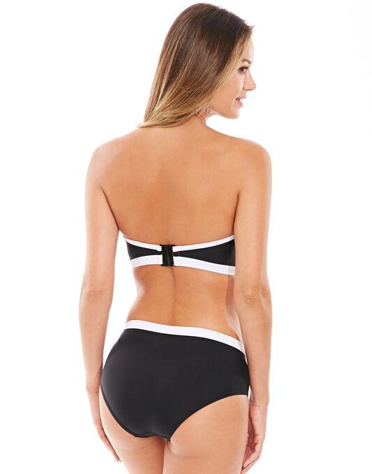 figleaves Dive In Underwired Longline Scuba Bandeau Bikini Top