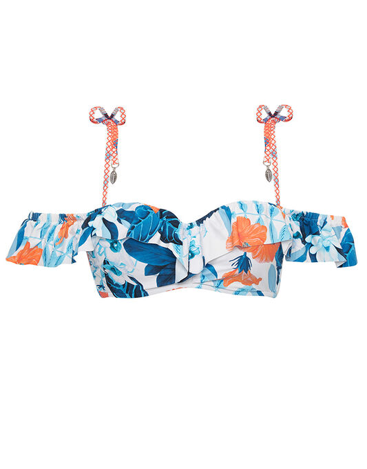 Seafolly Tropical Vacay Cold Shoulder Bandeau
