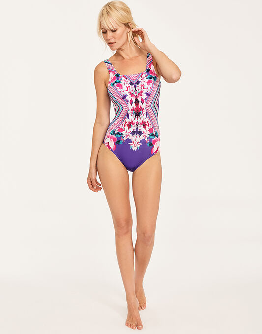 Zoggs Havana Poolside Squareback Swimsuit
