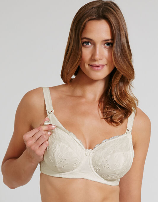 Chocolate Underwired Nursing Bra