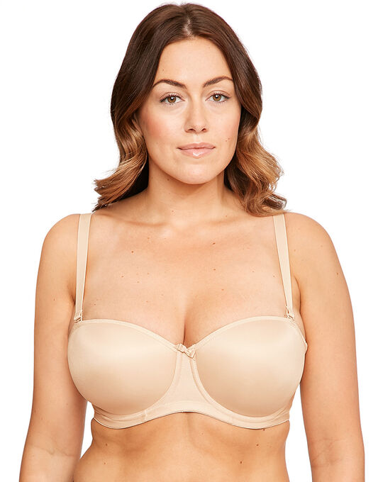 Smoothing Underwire Moulded Strapless Bra