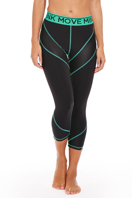 Mink Pink Work It Out 3/4 Leggings