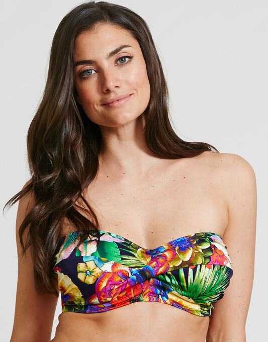 Fantasie Cayman Underwired Twist Bandeau Bikini Top