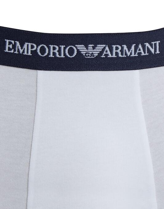Emporio Armani Cotton Stretch 3 Pack Trunk