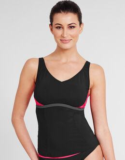 figleaves Aqua Underwired Active Tankini Top