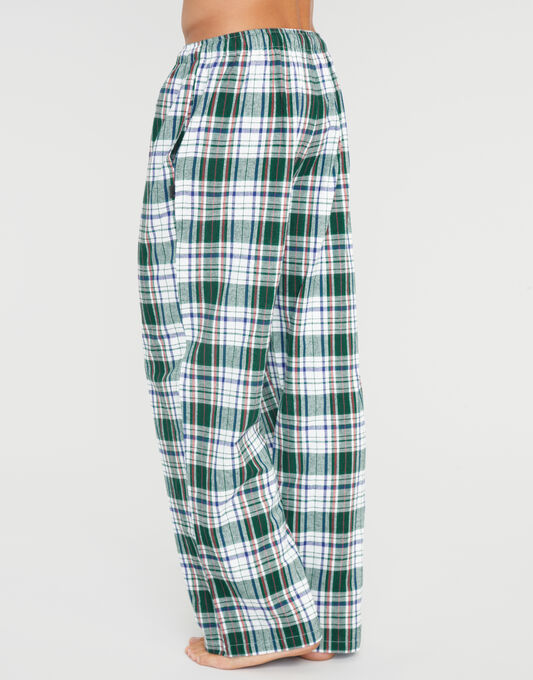 FGL Flannel Check PJ Bottom and Jersey Set