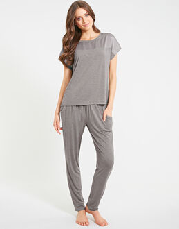 figleaves Camelia Soft Touch Tapered Leg PJ Set