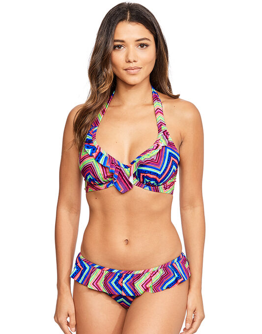 Solana Underwired Non Padded Halter Bikini Top