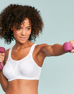 Shock Absorber Full Cup Classic Sports Bra Level 4