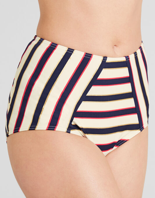 figleaves Santa Cruz High Waisted Tummy Control Brief