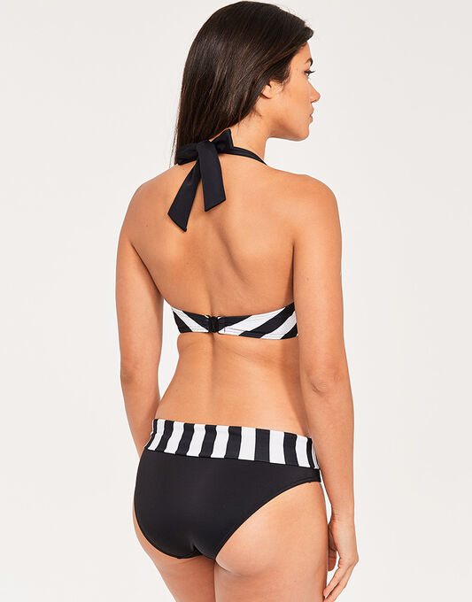 figleaves Portland Stripe Underwired  Non Padded Halter Top