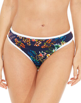 Freya Swim Club Tropicana High Leg Brief