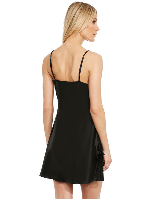 After Eden Feline Satin Slipdress