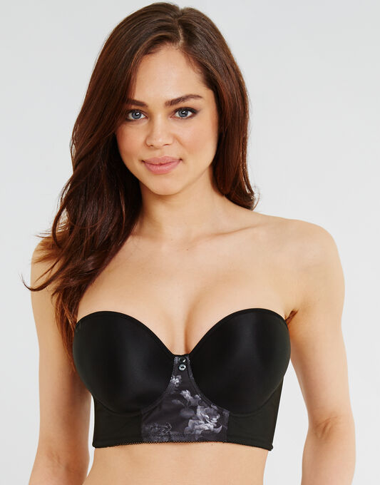 Freya Deco Shape Moulded Strapless Longline Bra