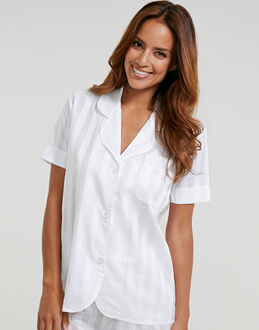 Bodas Cotton Nightwear Short Sleeve PJ Top