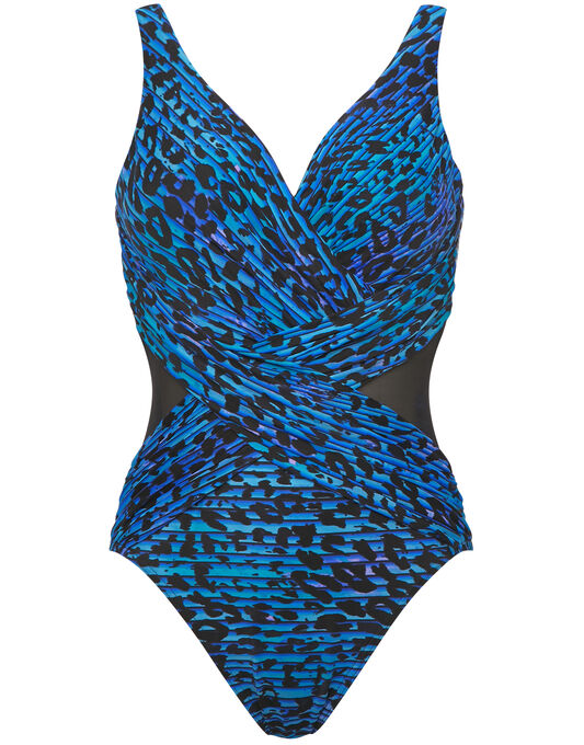 Miraclesuit PurrFection Crossover Firm Control Swimsuit