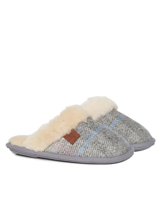 Kate Harris Tweed Mule Slipper