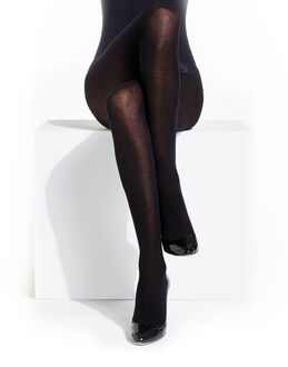 Charnos Hosiery Winter Opaques 100 Denier Cotton Model Tights