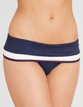 Sunset Stripes Fold Bikini Brief