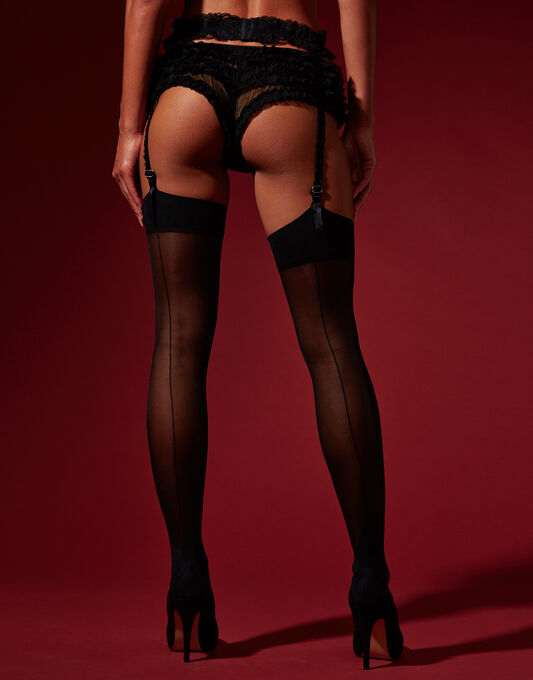 Hosiery Seam & Heel Stocking